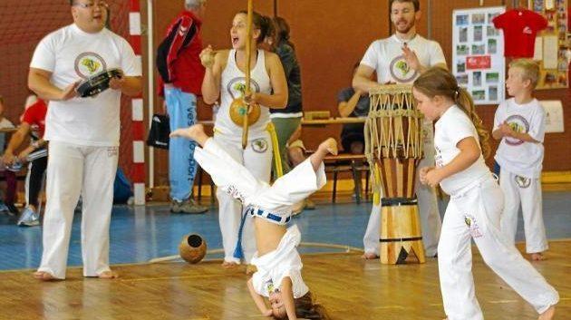La capoeira s'invite au Marin!