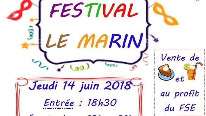 FESTIVAL LE MARIN JEUDI 14 JUIN 19H – 21H A LA SALLE JEAN CARMET A ALLONNES